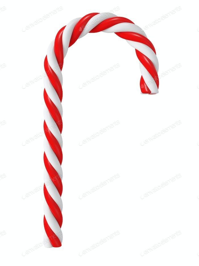 Chrismas candy cane isolated