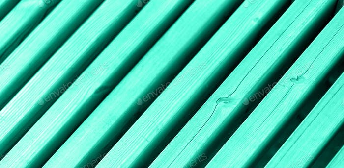 Old wooden wall. Abstract texture. Wood plank fence background with copy space. Trendy green and