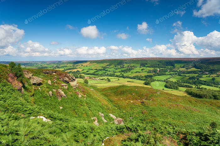 The North York Moors National Park in Yorkshire