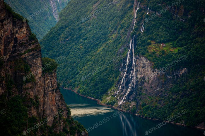 Norwegian Fjords Scenery