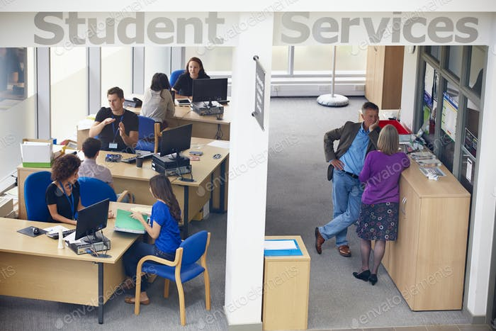 Student Services Department Of University Providing Advice