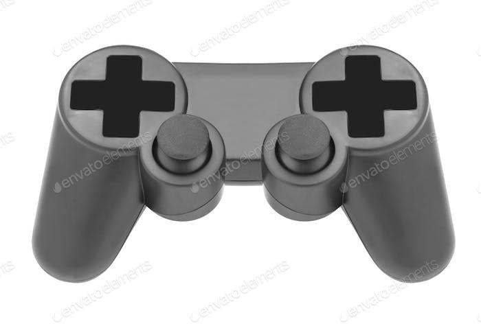 gamepad on white background isolated