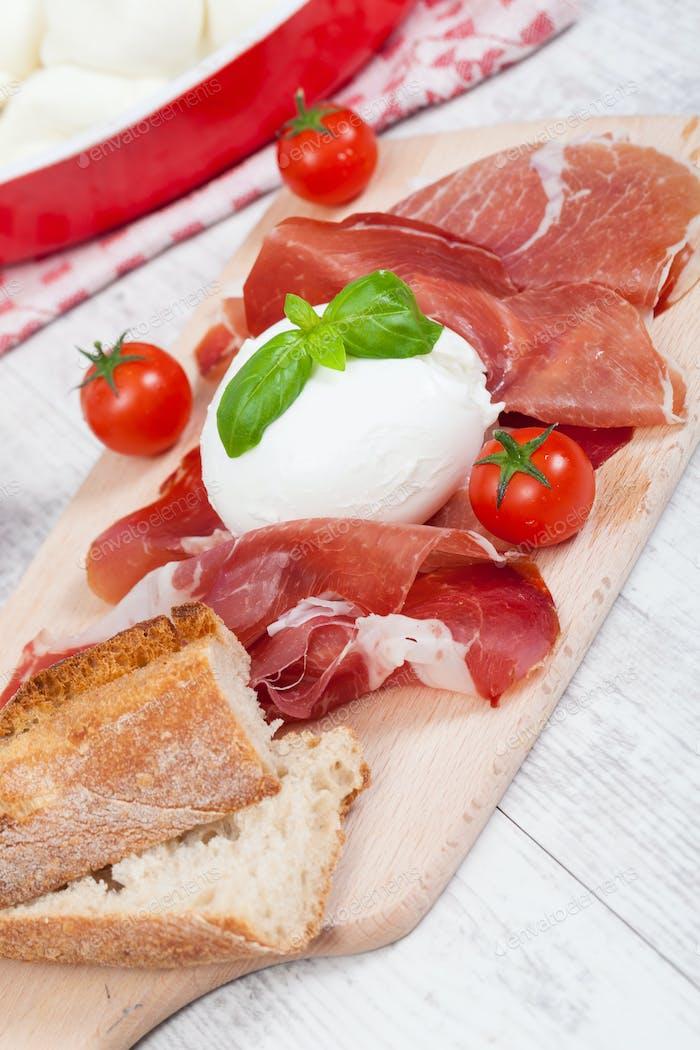 Italienische Mozzarella