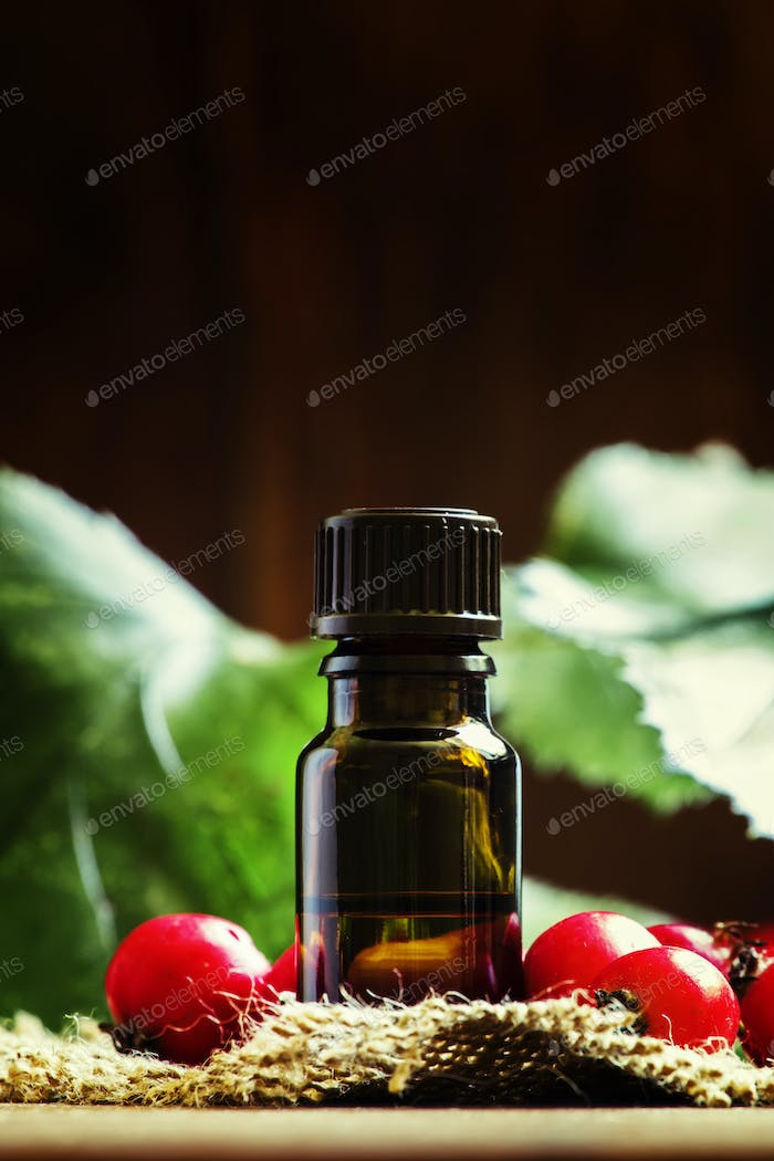 Essential oil of hawthorn