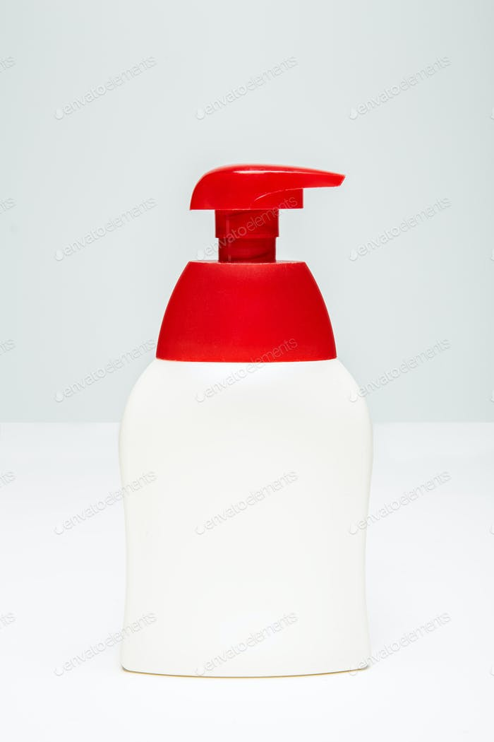 Sanitizer pump plastic bottle