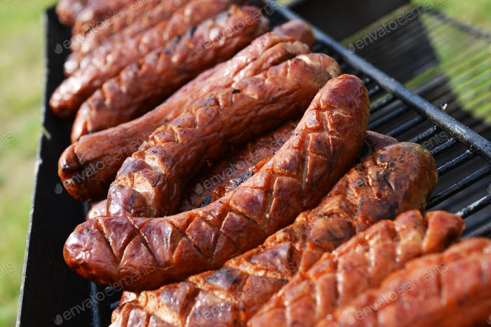 Grilled Polish Sausages
