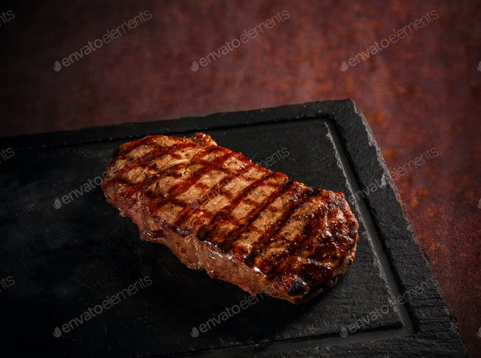 Maturated Argentinian sirloin steak