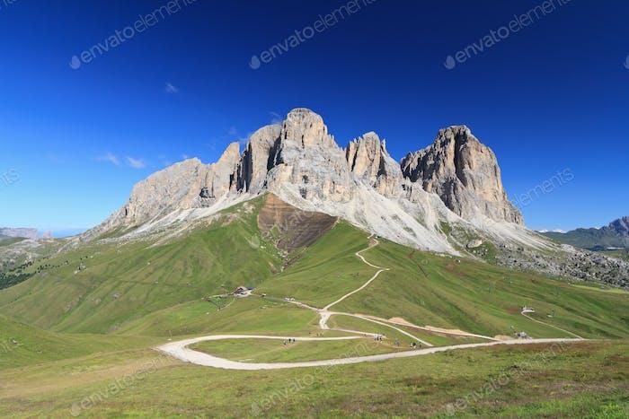 Dolomiti - Sassolungo mount