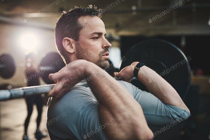 Превратить ожог в мышцы