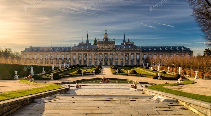 Royal Palace of La Granja de San Ildefonso
