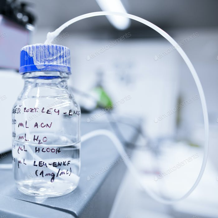 chemistry lab (shallow DOF)