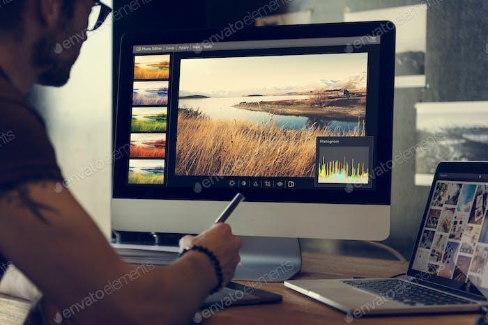 Fotografie Ideen Kreative Beruf Design Studio Konzept