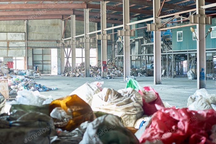 Empty Waste Processing Plant
