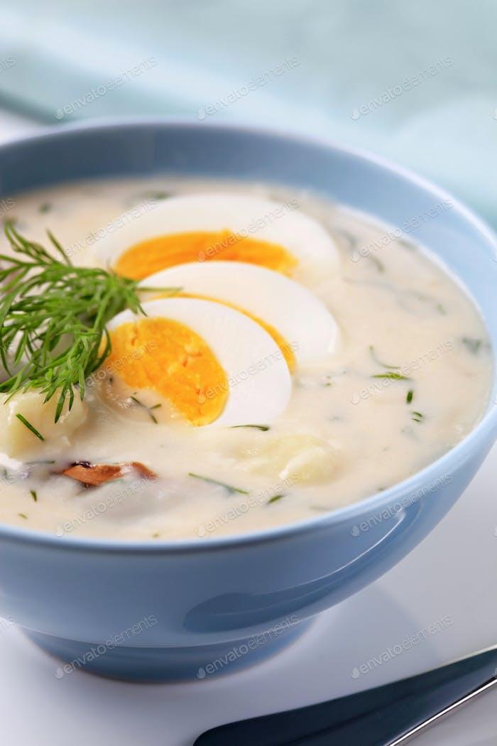 Sour Cream Soup