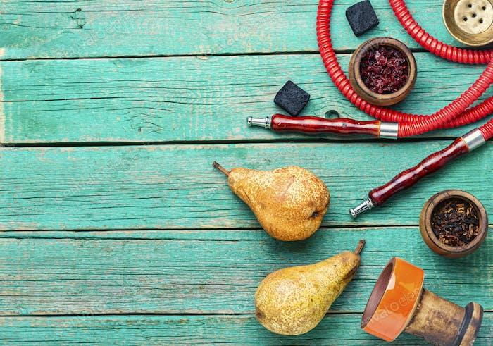 Pear shisha tobacco.