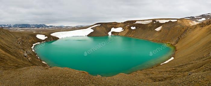 Viti Crater, Krafla, Iceland