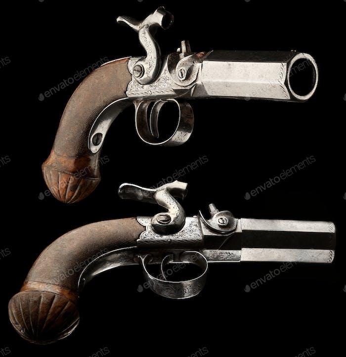Small capsule pistol.