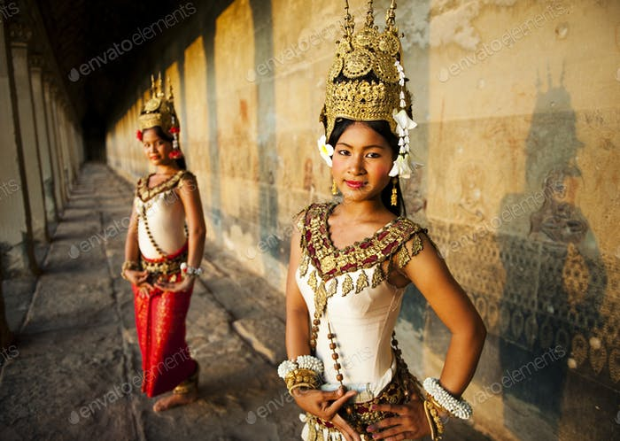 raditional Aspara Dancers Cambodia