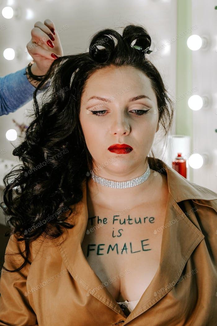 Future is female, Listen to women, women's rights, gender equality, feminism, Female empowerment