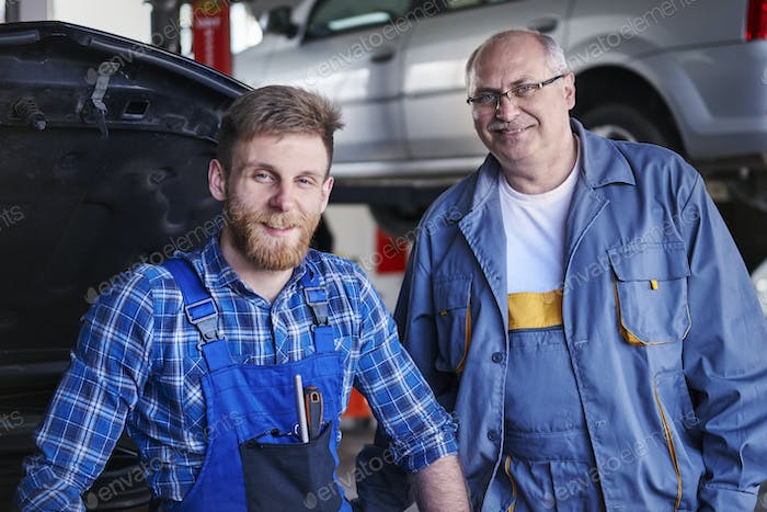 We take a care and repair your car