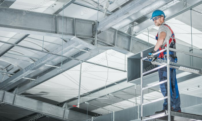 HVAC Technologies Warehouse Air Circulation Installer