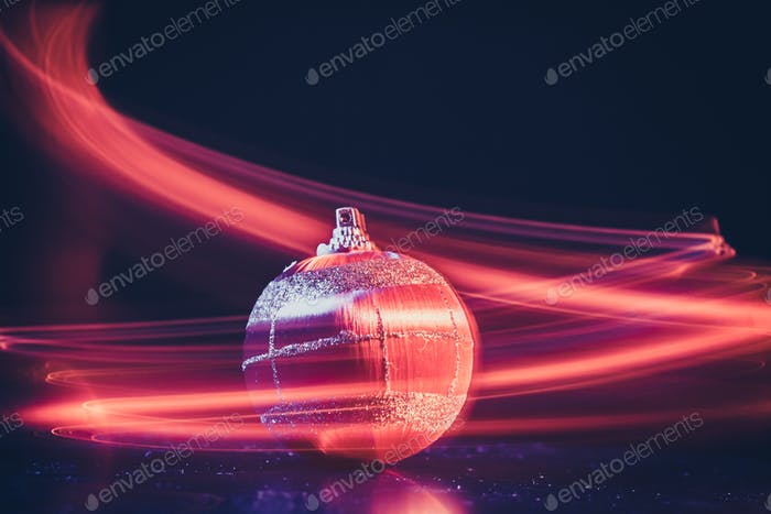 ball light background