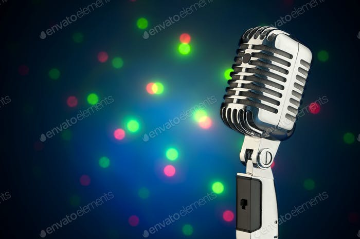Vintage-Mikrofon