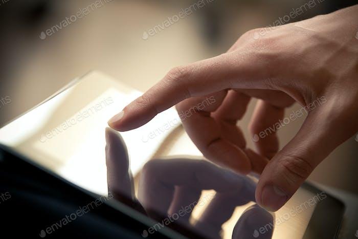 Verwenden von Digital-Tablet
