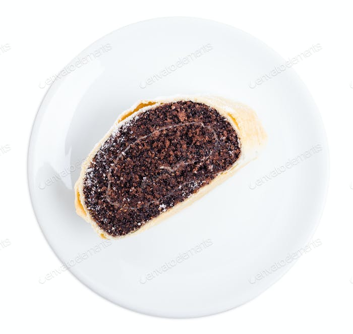Delicious poppy seed roll.
