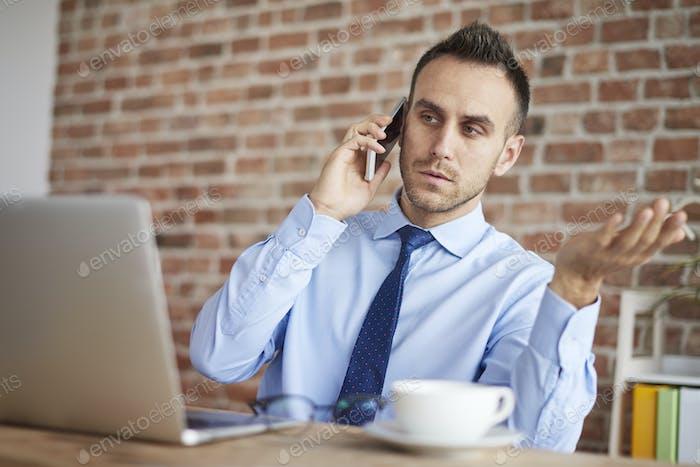 Conversación difícil con un cliente