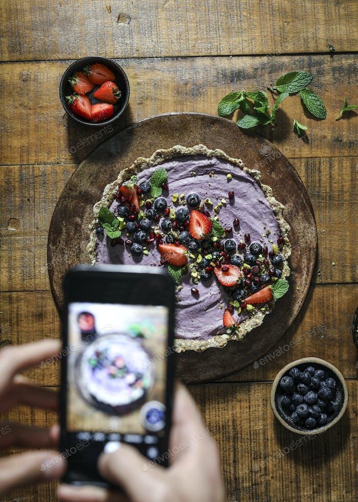 Foodie social media