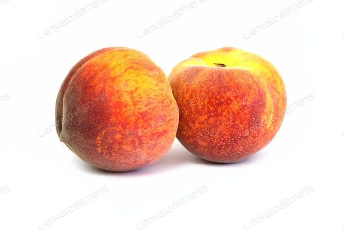 Juicy peaches