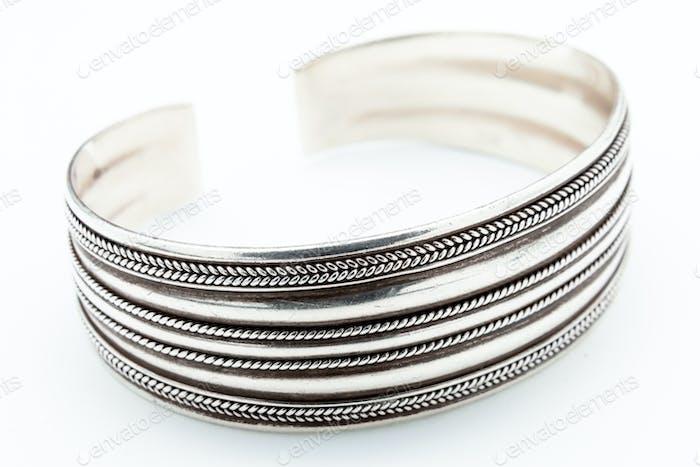 Silberarmband