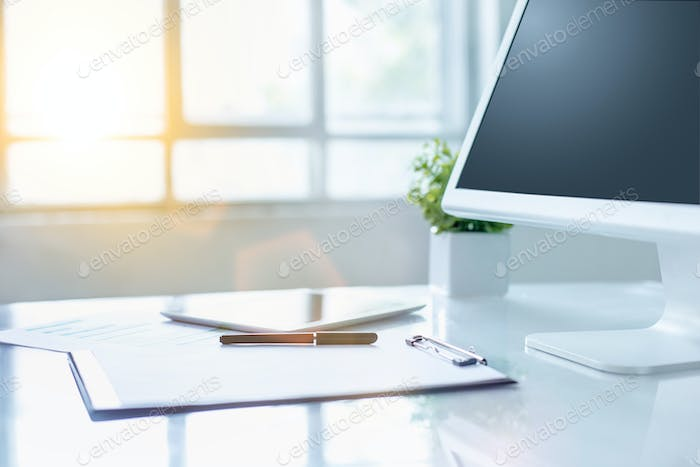 The abstract Office Desktop