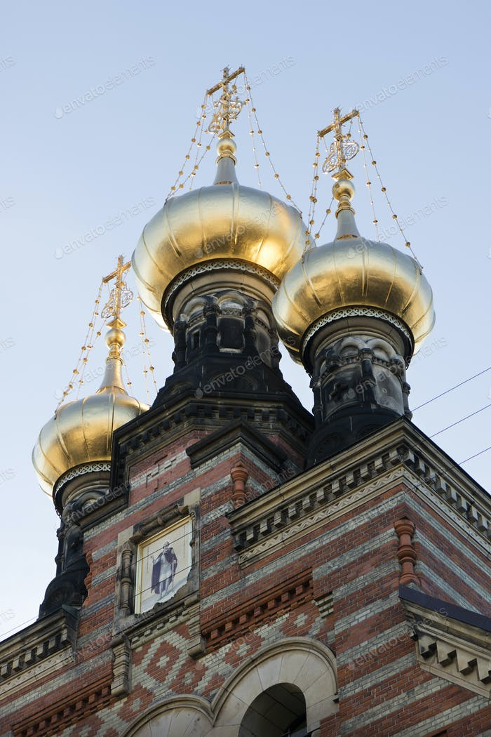 The Alexander Nevsky Church in Copenhagen, Denmark