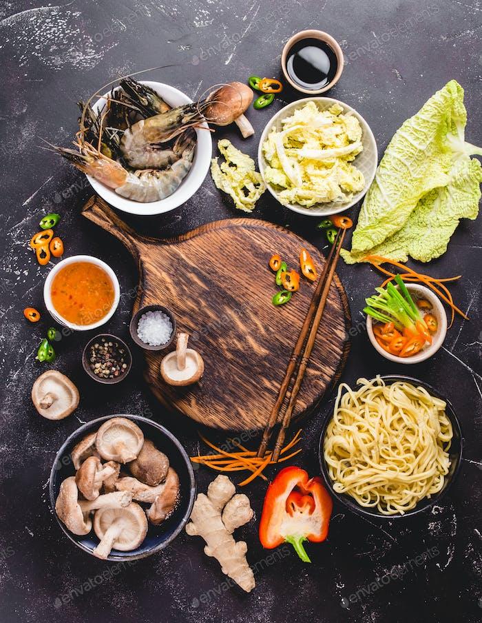 Asiatische Küche Konzept
