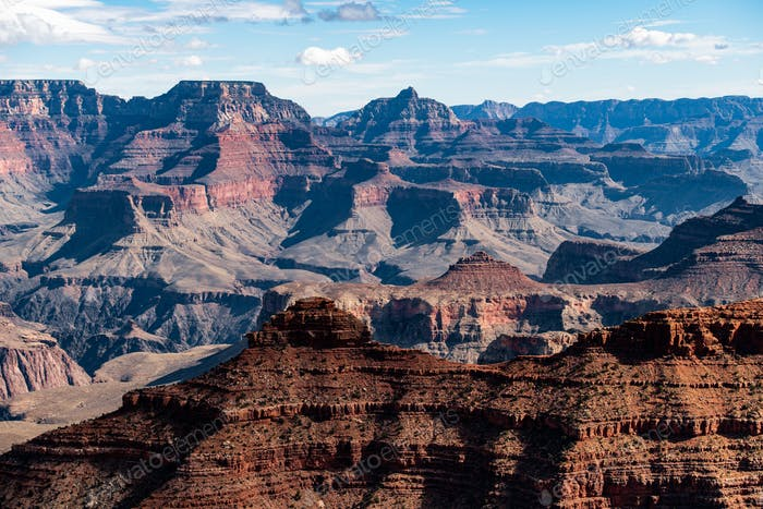 Amazing view on a Grand Canyon, Arizona, USA