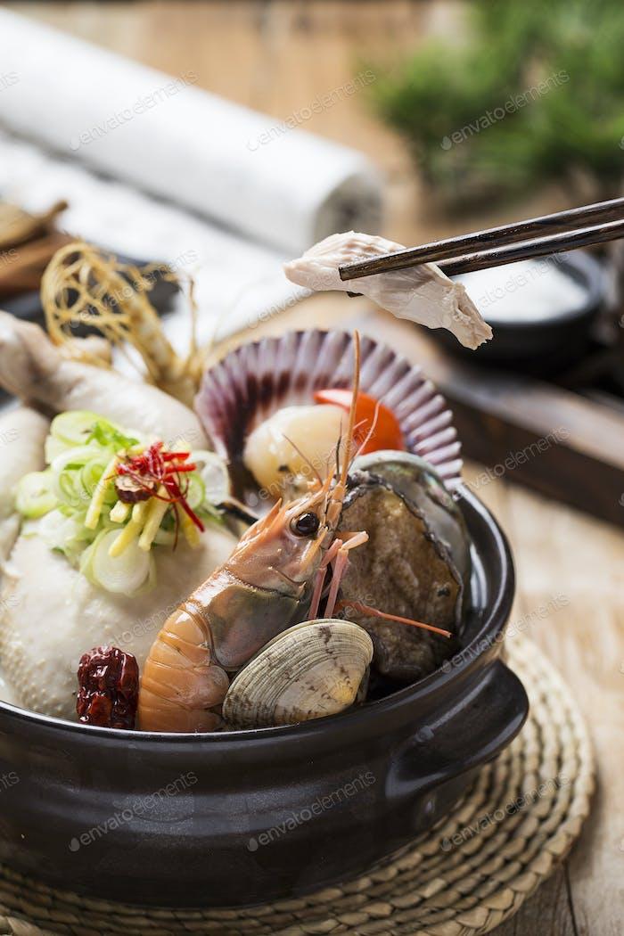 Koreanisches Gesundes Essen