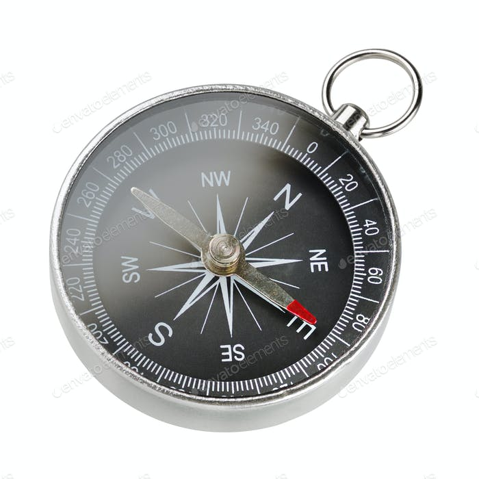 Magnetic portable compass