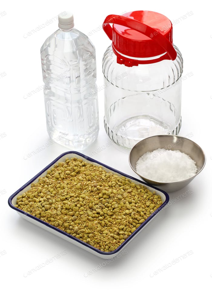 homemade soy sauce ingredients