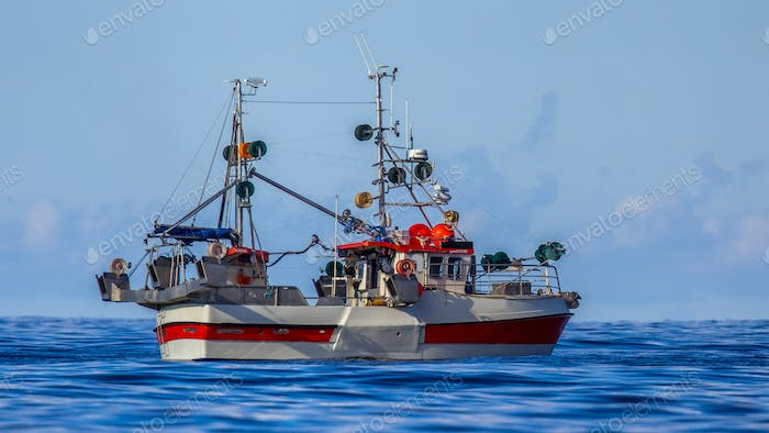 Norwegian hook line fishing vessel