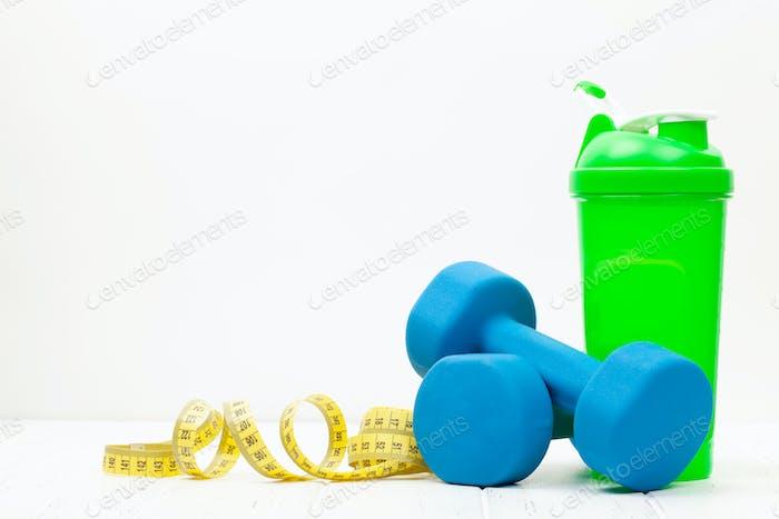 Концепция здорового образа жизни, фитнеса и спорта