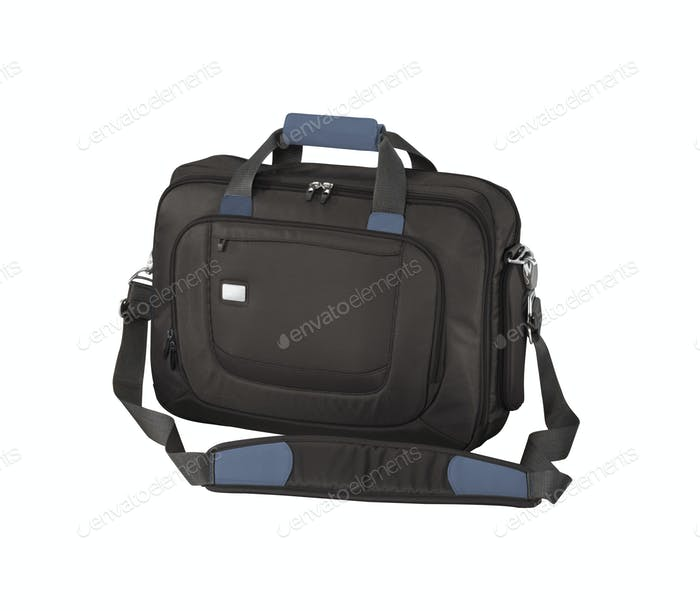 Business bag on a white background