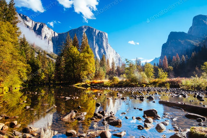 Yosemite Valley Morning View in the USA