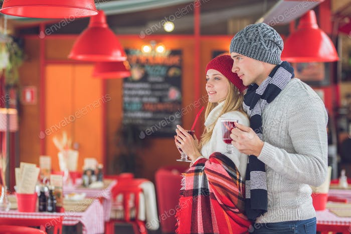 Thumbnail for Young couple at Christmas