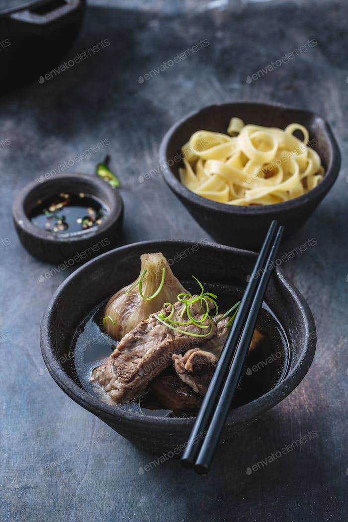 Bak kut teh, chinese pork ribs soup