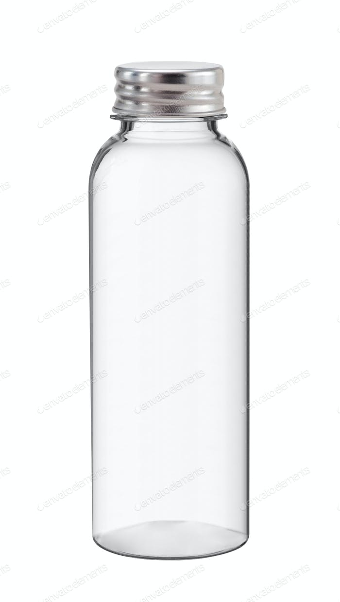 Water bottle, Isolated on white