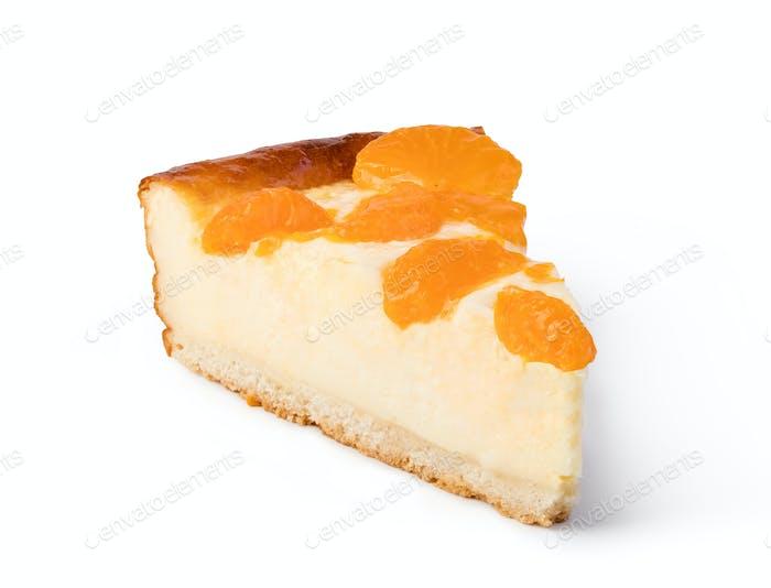 cheesecake with peache