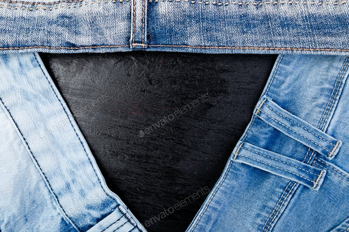 Jean background. Denim blue jean texture.