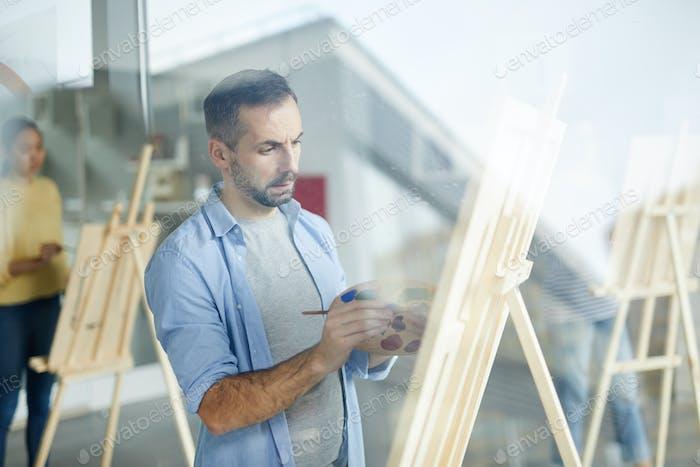 Arbeiten über Malerei
